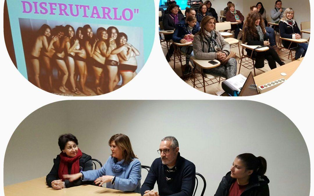 Con Diputación Provincial de Jaén trabajando por el empoderamiento de la mujer en el medio rural.